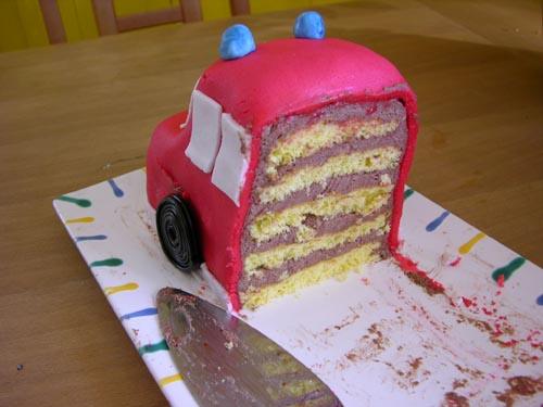 Feuerwehr Kuchen 3d Torte Werk Als Version Ueber Pictures